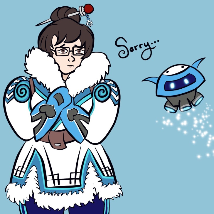 Mei and Snowball